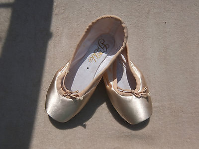Pink Satin Grishko 2007 pointe shoes - all sizes and widths