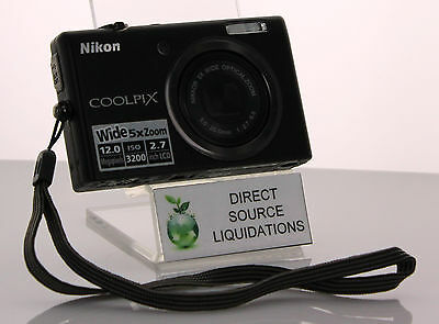 Nikon Coolpix S570 12MP Digital Camera LCD - Black