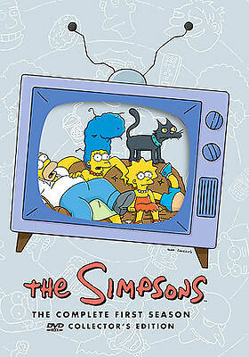 The Simpsons - The Complete First Season (DVD, 2001, 3-Disc Set, Collector's...