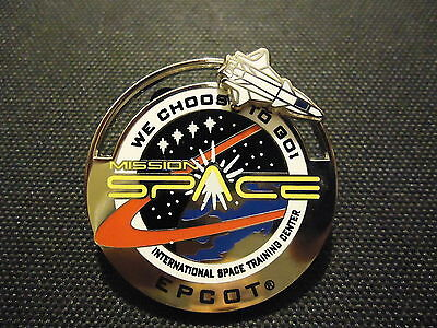 DISNEY WDW MISSION SPACE INTERNATIONAL SPACE TRAINING CENTER SLIDER 3D PIN