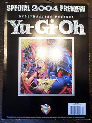 Ghostmasters Present Yu-Gi-Oh Special 2004 Preview Magazine Book