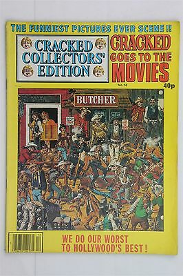 Cracked Collectors Edition Goes To The Movies #36 Magazine 1980 Robert C Sproul