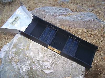E-Z SLUICE BOX WITH FLARE OVER 25,000 SOLD  GOLD PROSPECTING