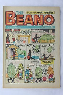 The Beano 1527 October 23rd 1971 Vintage Comic Dennis The Menace Biffo The Bear