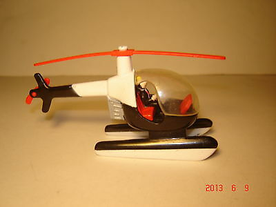 """1998 Jack in the box Kid's Meal Toy - Jack Vehicles """"HELICOPTER"""""""