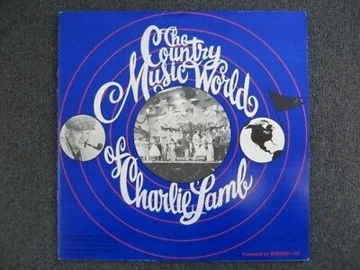 Country Music World Book Charlie Lamb Signed The Browns