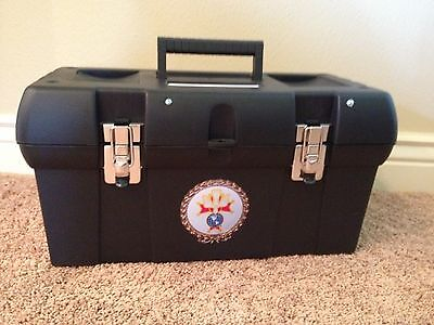 NEW! Sturdy & Improved Knights of Columbus Chapeaux Carrying Case Saves Feathers