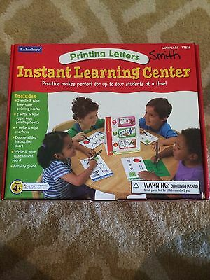 Lakeshore Learning Printing Letters Center