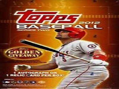 2012 Topps Series 2 and Update Gold Sparkle Blue Walmart You Pick 5 Card Lot
