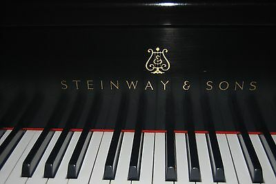 Steinway B - 7' Ebony Black Satin, Original One Owner. Excellent Piano, A Keeper