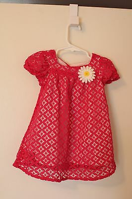 The Childrens Place Spring EASTER Dress - Pink floral 12-18 months, EUC TCP