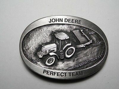 Rare Limited Edition - Serial Numbered 1993 John Deere Pewter Belt Buckle - New