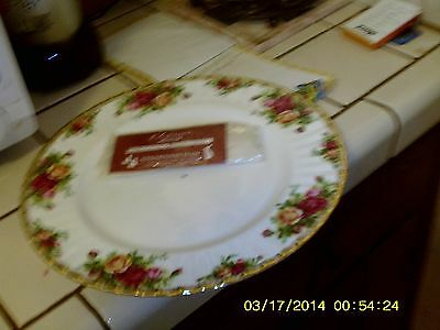 Royal Albert England Old Country Roses Single / One Tier Cake Stand