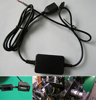 12V 2A Waterproof USB Power Supply Port Socket Charger Outlet Touring For Yamaha