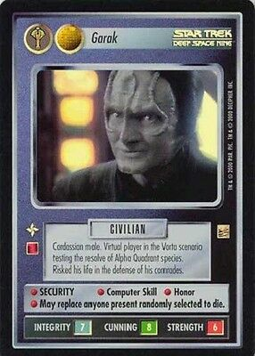 Garak - VR Foil - Star Trek CCG 1E Reflections - Decipher