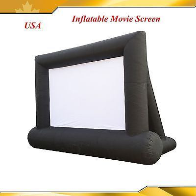 16*10ft Inflatable Advertising Screen Movie Screen Large Inflatable HOME YARD