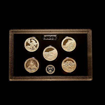 2012 S America the Beautiful National Parks Quarters ~ US Silver Mint Proof Set