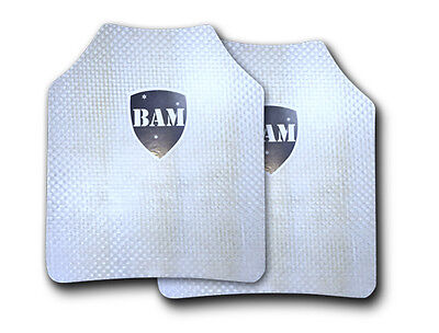 Body Armor | Bullet Proof Plates | ArmorCore | Level IIIA+ 3A+ FLAT 10x12 PAIR