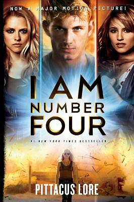 I Am Number Four 1 by Pittacus Lore (2011, Paperback, Movie Tie-In)