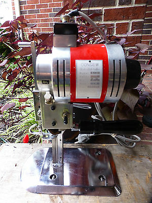 Consew Industrial Model 510 Cloth Cutting Machine Straight Knife Great Price !!