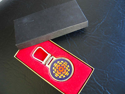 Canadian Broadcasting Corporation (CBC) Key Ring NEW Presentation Box
