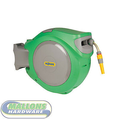 Hozelock 2590 Auto Reel with 30m hose Retractable Hose Wall Mounted