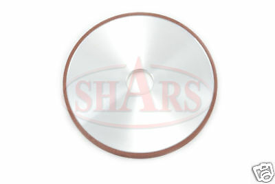 "SHARS 4 X 1/4"" D1A1 STRAIGHT STYLE DIAMOND WHEEL 100 GRIT NEW Save $66.60"