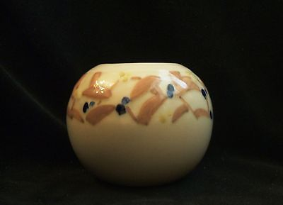 Vintage Rookwood Ball Rose Vase #6454 XLV 1945