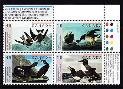 Canada MNH Plate Block with Inscript