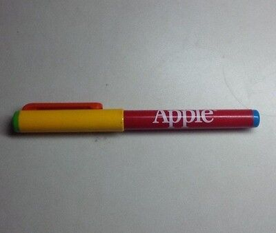 Vintage Apple Computer Pen 1980's Rainbow Colors -cool accessory to your iPhone