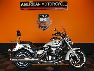 Yamaha : V Star 2013 used white yamaha v star 950 tourer motorcycle clean loaded with extras