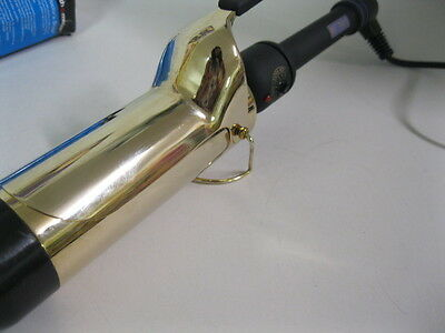 """Hot Tools 2"""" Black and Gold Professional Spring HT1111   up to 430° F"""