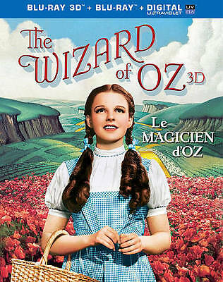 The Wizard of Oz 75th Anniversary (Blu-ray/DVD 2013 3D/2D Includes Digital Copy)