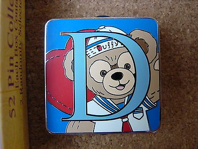 Disney 2015 Lim.Rel. ALPHABET MYSTERY COLLECTION pin*DUFFY BEAR*Letter D