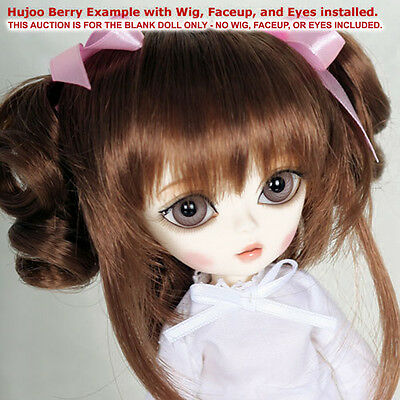 Hujoo Berry Cream White Blank 24cm ABS Ball Jointed Fashion Doll New BJD