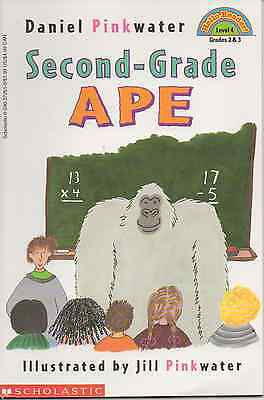 Second-Grade Ape by Daniel Pinkwater (1998, Paperback) RL: 2.6