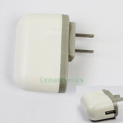 HOT New 110-240V AC/DC 5V 2.5A USB Wall Home Charger Adapter US For Tablet PC