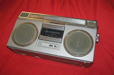 Vintage Panasonic RX-5030 FM AM Stereo Radio Cassette Recorder BoomBox