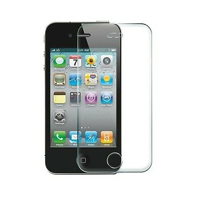 Wholesale Lots 10 Tempered Glass Film Screen Protectors for Apple iPhone 4 4S