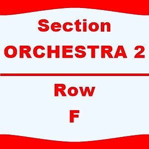 2 TIX Maroon 5 with Magic 4/1 Viejas Arena Sect-GA PIT