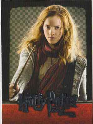 HARRY POTTER AND THE DEATHLY HALLOWS PART 2 TRADING CARD - HERMIONE GRANGER