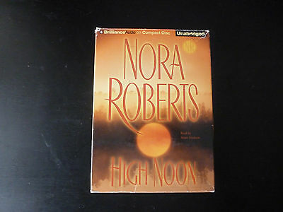 High Noon by Nora Roberts (2007, CD, Unabridged)