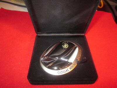 Cadillac Heritage of Ownership Grille Grill Emblem Badge Medallion New NIB