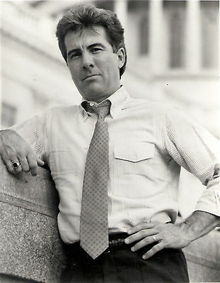 Publicity Photo for John Walsh - America's most Wanted Leaning on Wall