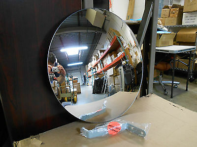 "18"" Indoor Industrial Acrylic Convex Security & Safety Mirror"