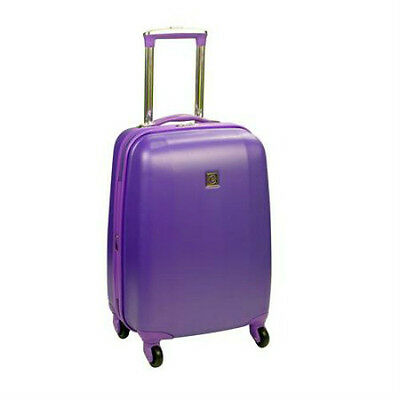 "New Protege 20"" Bright Hardside Upright Spinner - Purple"
