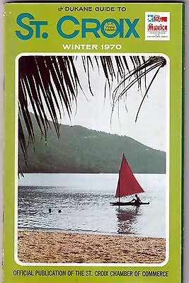 DUKANE GUIDE to ST. CROIX - WINTER 1970