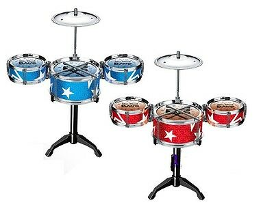 Cute MINI New Kids Xmas Gift Children Toys Drum Set Musical Instruments Drum Kit