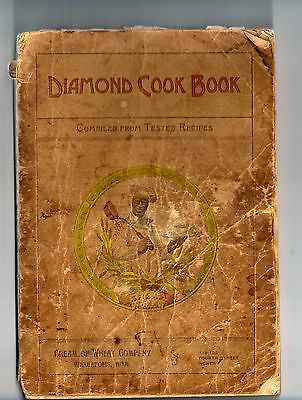 Antique Diamond Cook Book published by Cream of Wheat