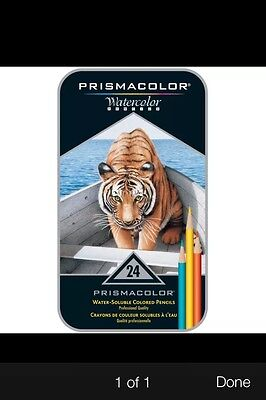 Prismacolor Watercolor Pencil Assorted Color Gift Set of 24